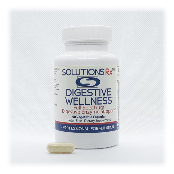 Digestive Wellness Full Spectrum Digestive Enzyme Support 90 Capsules