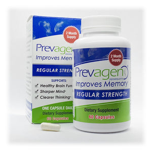 Prevagen Regular Strength 60 Capsules