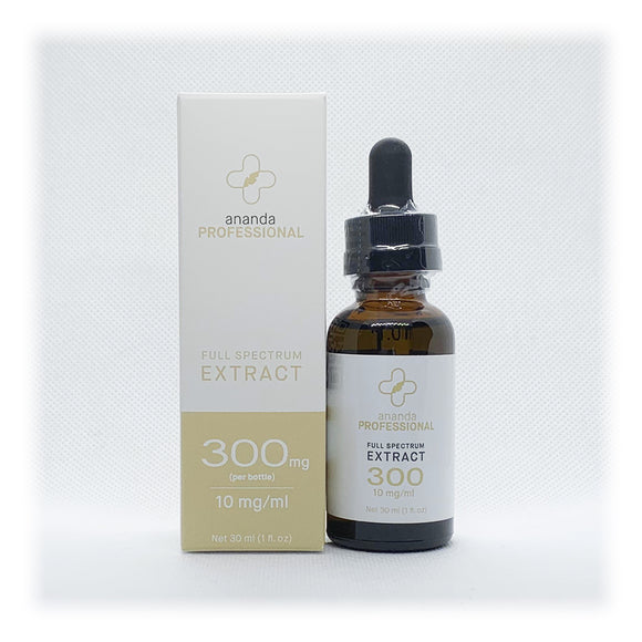 Full Spectrum Extract 300mg  10mg/ml 30ml (1 fl oz)
