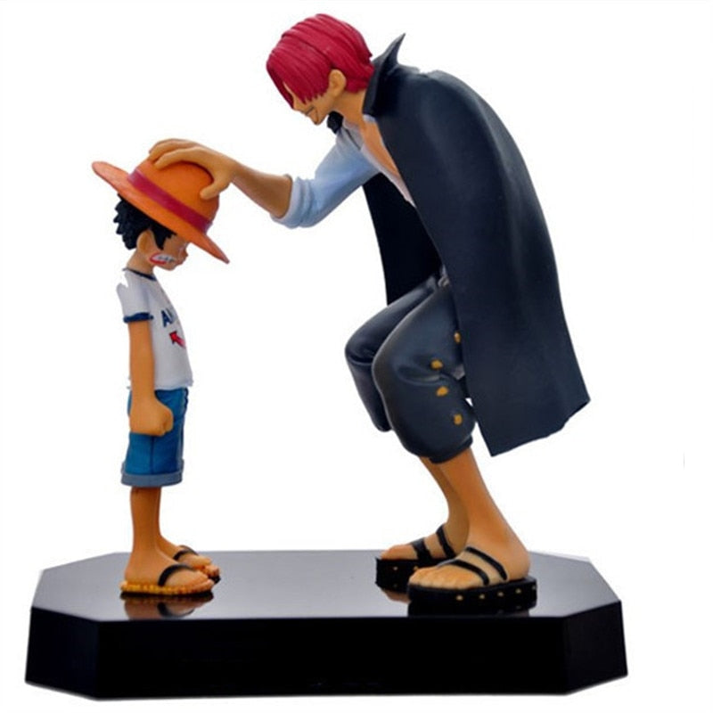 One Piece figurka Luffy & Shanks 18cm