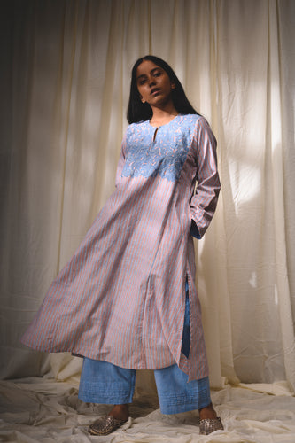 Driss Applique Kalidar Kurta