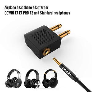 Airline og Audio Adapter Kit Aukabúnaður Cowinaudio