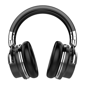 COWIN E7 | Molaetsa o sebetsang oa ho hlakola li-wireless Bluetooth Headphones Headphone cowinaudio Black