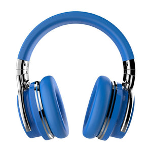 COWIN E7 | Active Noise Cancelling Wireless Bluetooth Over-ear Headphones,Blue Headphone Cowinaudio