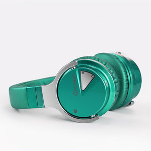 COWIN E7 | Active Noise Cancelling Wireless Bluetooth Over-ear Headphones,DarkGreen Cowinaudio