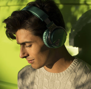 COWIN E7 | Casque d'écoute sans fil Bluetooth à annulation active du bruit , DarkGreen Cowinaudio