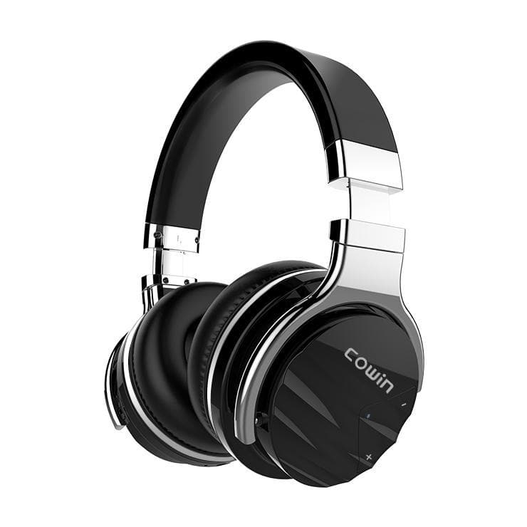 COWIN E7 Max | Noise e Sebetsang Ho hlakola Wireless Bluetooth Headsets Cowinaudio Black