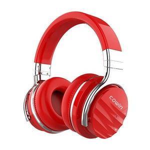 COWIN E7 Max | Active Noise Cancelling Wireless Bluetooth Headphones Cowinaudio Red