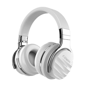 COWIN E7 Max | Active Noise Cancelling Wireless Bluetooth Headphones Cowinaudio White