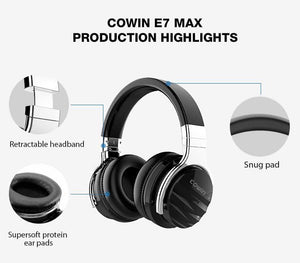 COWIN E7 Max Wireless Bluetooth-koptelefoon Cowinaudio