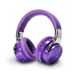 COWIN E7 Pro [2018 Di-upgrade] | Headphone Nirkabel Kebisingan Aktif Membatalkan Headphone cowinaudio DarkViolet