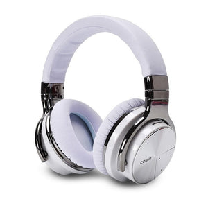 Hōʻike manaʻo E7 Pro [2018 Upgraded] | Hana Noise i ka Hoʻohaunaʻana i nā Headphones Wireless Headphone cowinaudio White