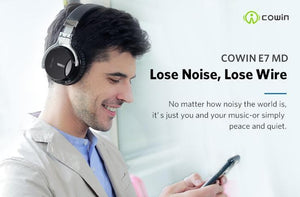 COWIN E7S | Active Noise Cancelling Wireless Headphones Cowinaudio