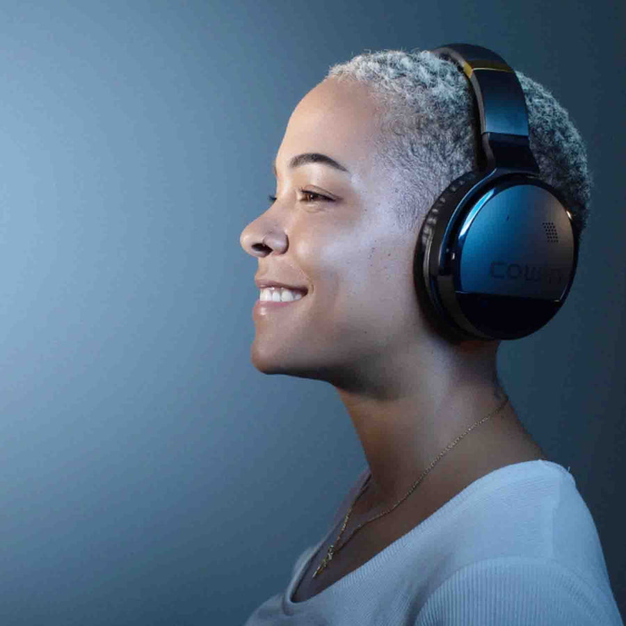 COWIN E8 | PerfectQuiet Active Noise Canceling Wireless Căști Bluetooth Căști cowinaudio Negru