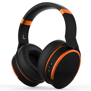 COWIN E8 | PerfectQuiet Sŵn Actif Canslo Clustffonau Bluetooth Di-wifr Headphone cowinaudio Orange