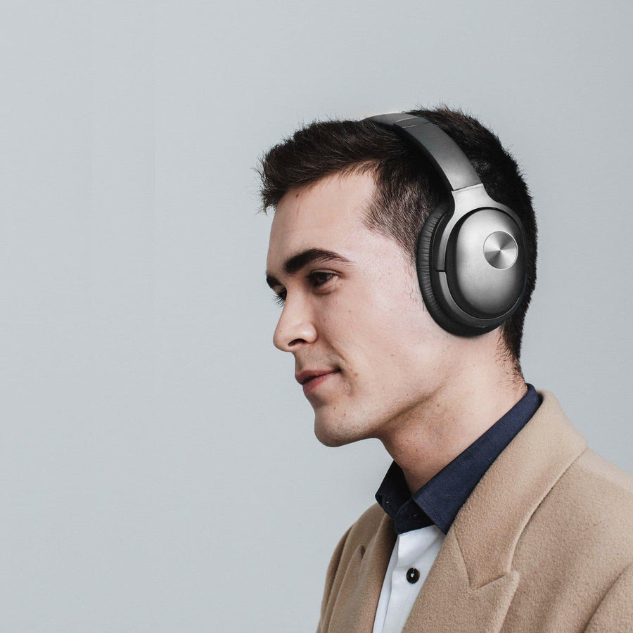 COWIN SE7 | Casque Bluetooth sans fil à annulation active du bruit Cowinaudio, noir