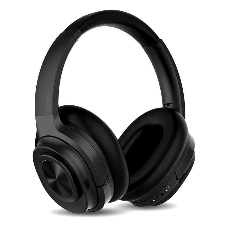 COWIN SE7 MAX | ANC Bluetooth heyrnartól Exclusive fyrir B2B Headphone Cowinaudio Black