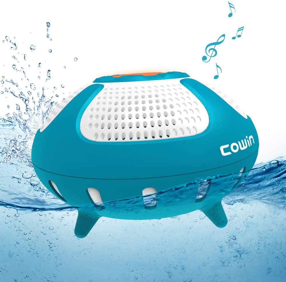 COWIN Smile IPX7 Waterproof Floating Bluetooth Speaker Cowinaudio
