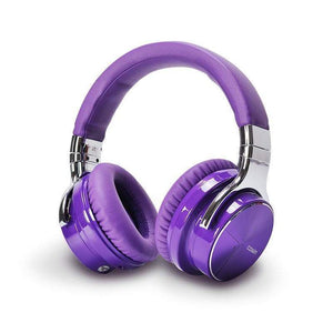 Cowin Wireless Active Noise Cancelling Headphones Cowinaudio E7 Pro Purple