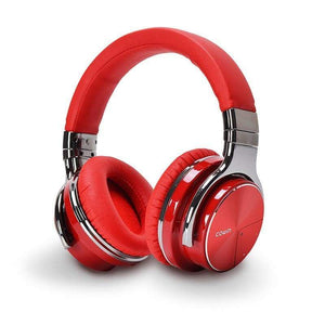 Cowin Wireless Active Noise Cancelling Headphones Cowinaudio E7 Pro Red