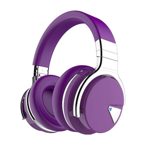 Cowin Wireless Active Noise Cancelling Headphones Cowinaudio E7 Purple