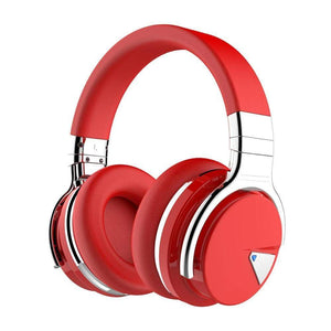 Cowin Wireless Active Noise Cancelling Headphones Cowinaudio E7 Red