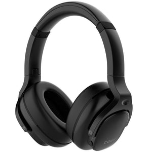 Cowin Wireless Active Noise Cancelling Headphones Cowinaudio E9 Black