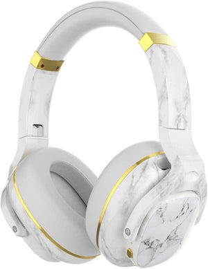Cowin Wireless Active Noise Cancelling Headphones Cowinaudio E9 Marble White