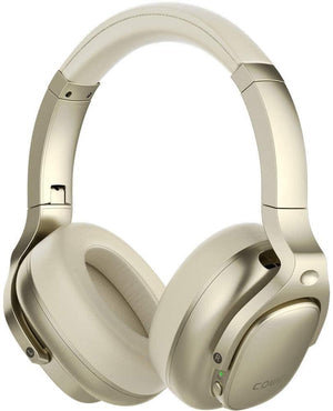 Cowin Wireless Active Noise Cancelling Headphones Cowinaudio E9 Yellow