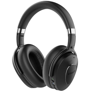 Cowin Wireless Active Noise Cancelling Headphones Cowinaudio SE8 Schwaarz
