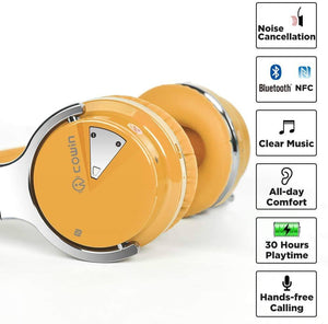 E7 Hoʻoikaika Noise Hoʻokuʻu ʻana i ka Pāpaha Over-ear headphone Headin cowinaudio