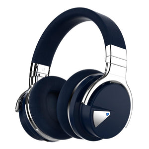 cowin e7 headphones E7 Active Noise Cancelling Bluetooth Over-ear Headphones Headphone cowinaudio Black active noise cancelling headphones cowin e7 headphones active noise cancelling headphones noise cancelling headphones noise reduction headphones