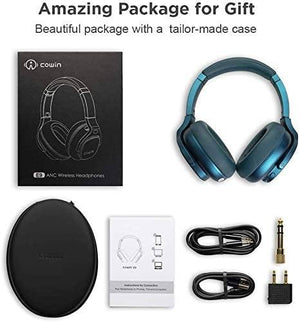 E9 Active Noise Cancelling Wireless Bluetooth Headphones Cowinaudio