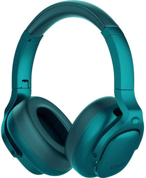 E9 Active Noise Cancelling Wireless Bluetooth Headphones Cowinaudio Teal