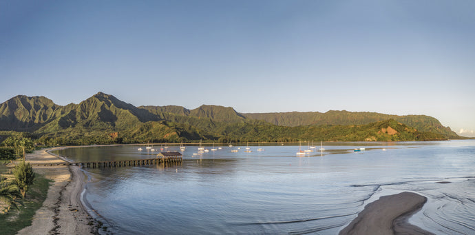 Hanalei Bay Panoramic