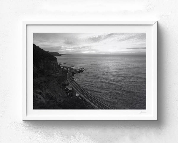 Sea Cliff B&W