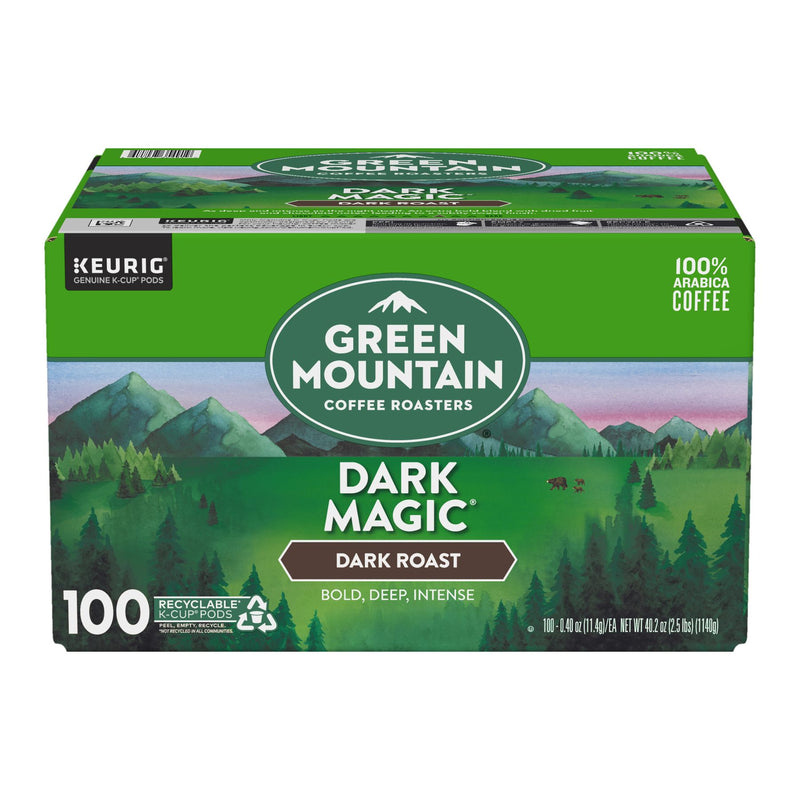Green Mountain Coffee Dark Magic K-Cup Pods 100 ct.