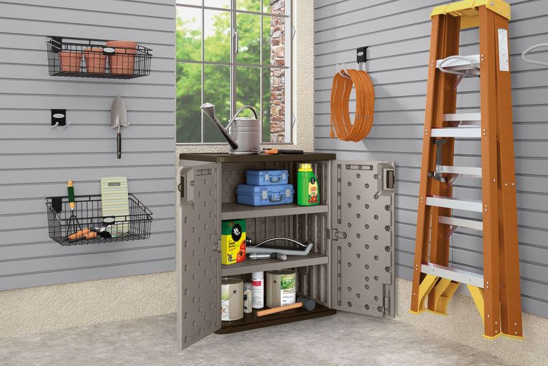 Suncast Base Storage Cabinet - Gray