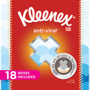 Kleenex Anti-Viral Facial Tissues 1224 sheets