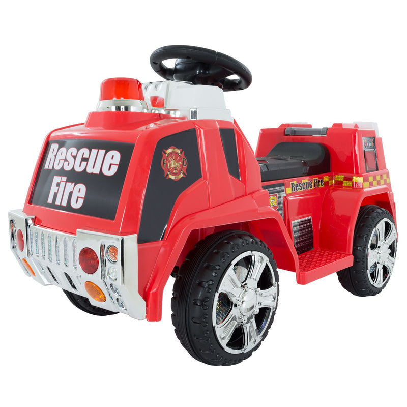 Lil' Rider Fire Truck Ride-On