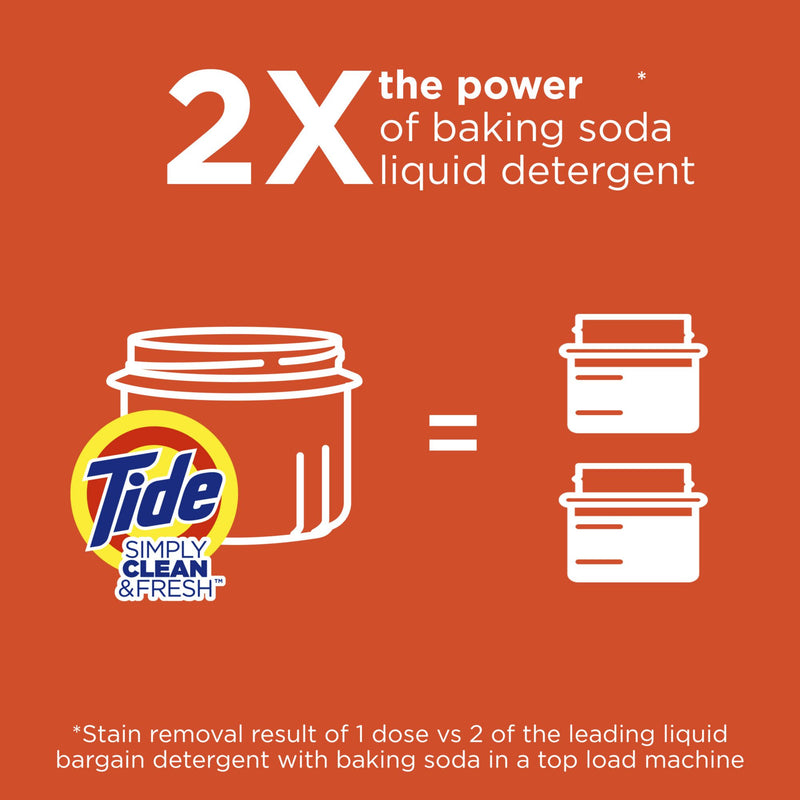 Tide Simply Clean & Fresh Refreshing Breeze Ultra Concentrated Liquid Laundry Detergent 200 fl. oz.