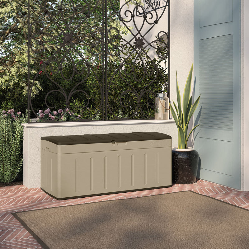 Suncast 99-Gal. Resin Deck Box - Taupe