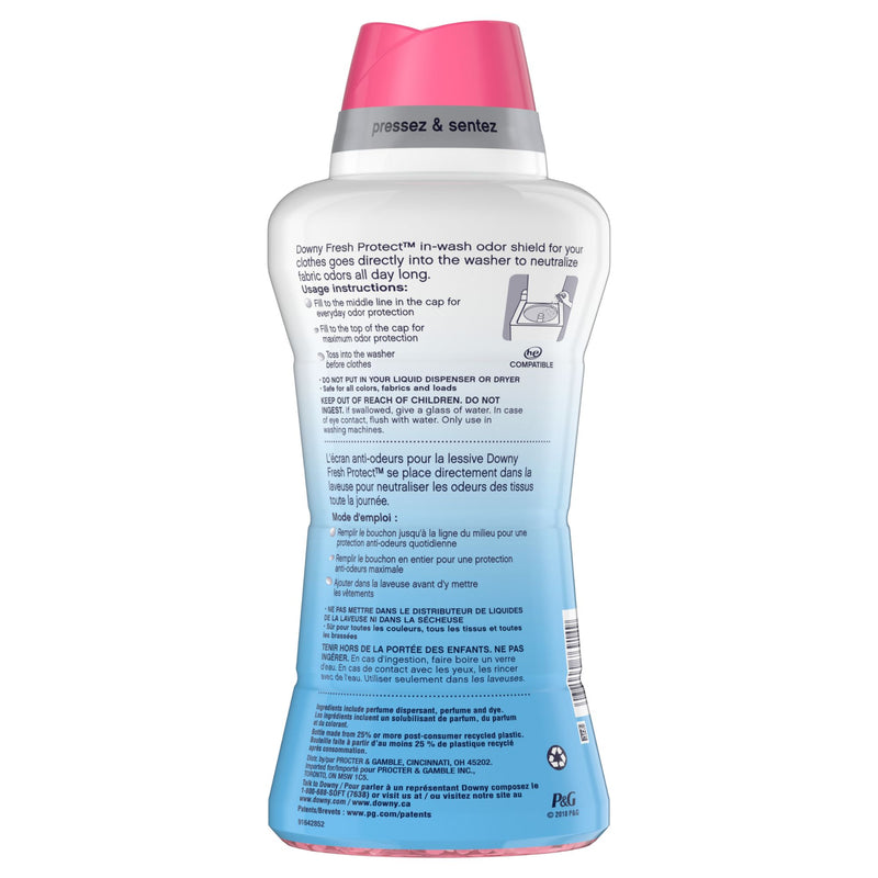 Downy Fresh Protect With Febreze April Fresh In-Wash Odor Defense Beads 30.3 oz.