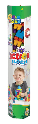 Kids at Work 150-Pc. Crayola Action Building Blocks Set