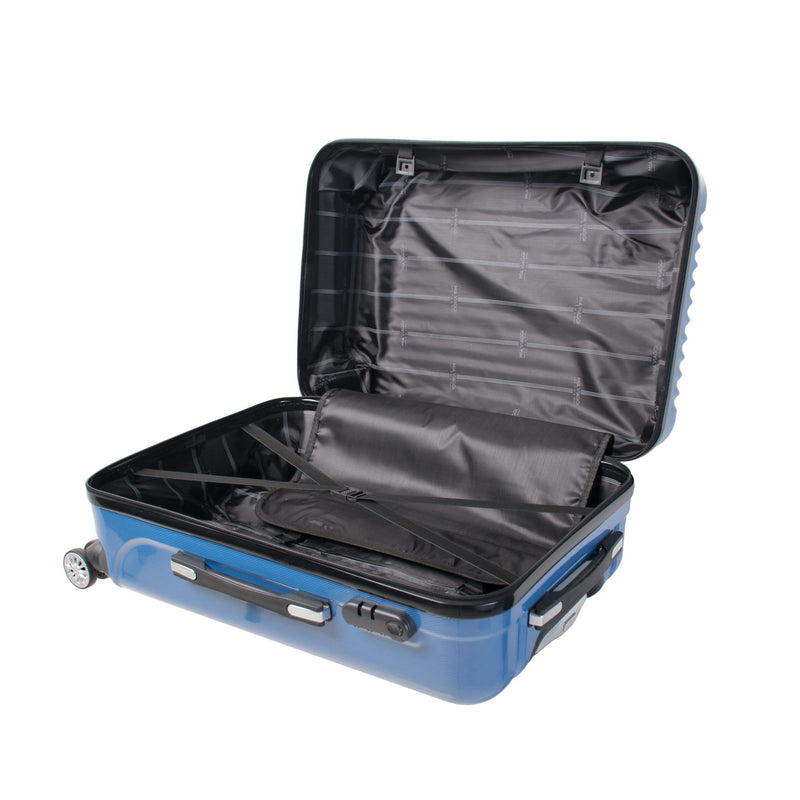 Mia Viaggi Italy Lucca 3-Pc. Hardside Spinner Set - Blue