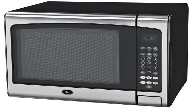 Oster 1.1-Cu.-Ft. 1000W Microwave Oven - Stainless