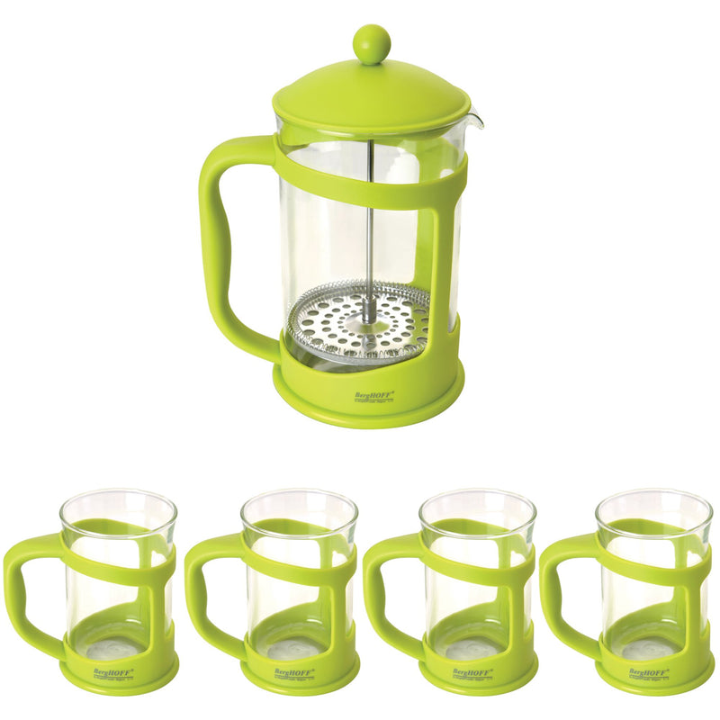 BergHOFF Studio 5-Pc. Coffee/Tea Brewer Set - Lime