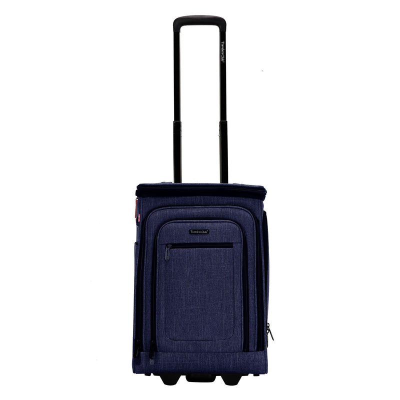 "Travelers Club Rogers 20"" Expandable Carry-On - Blue"