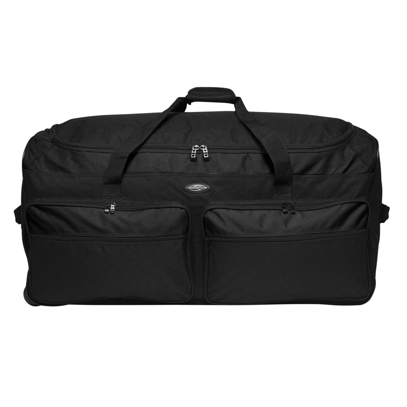 "Travelers Club 36"" Expandable Rolling Duffel"