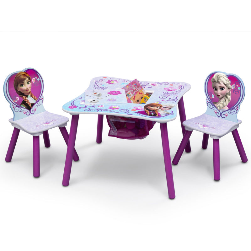Delta Children Disney Frozen 3-Pc. Table and Chair Set w/ Storage